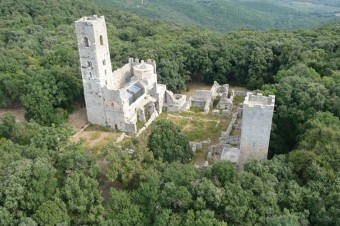 A1 San Rabano abbey and Uccellina Tower