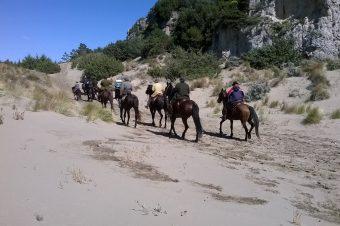 Collelungo  a cavallo nella storia