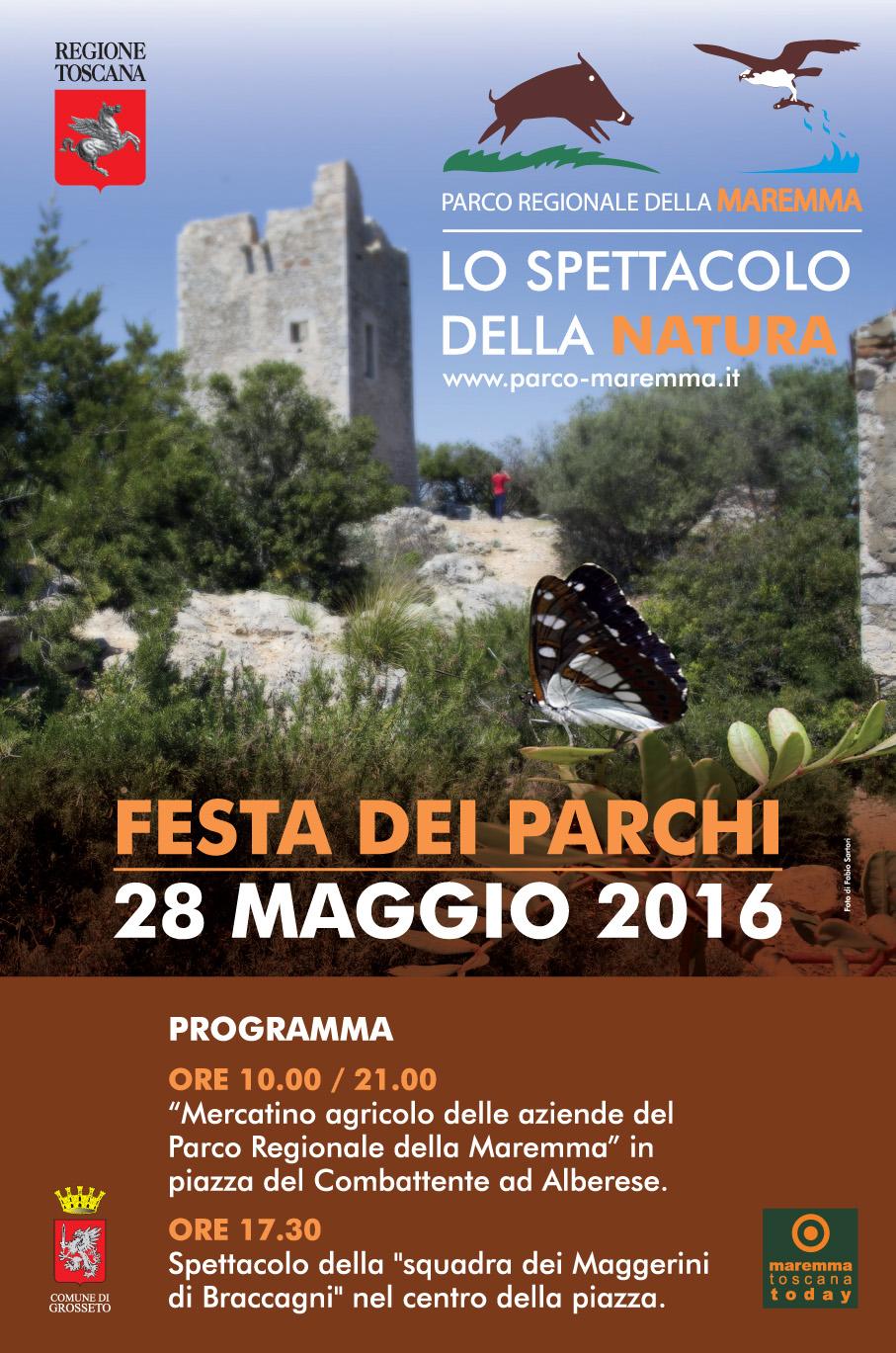 """Save the date: 28 maggio """"Mercatino agricolo del Parco della Maremma"""""""