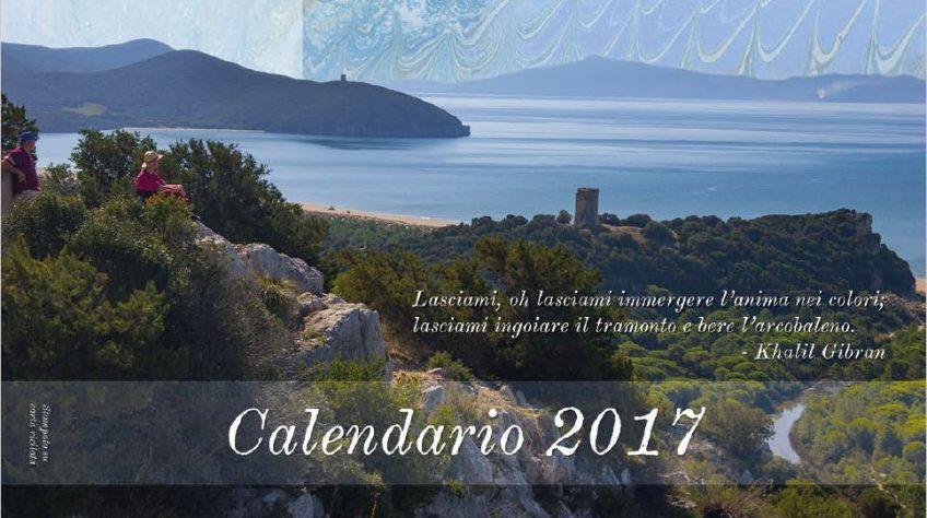 Calendario 2017 del Parco della Maremma
