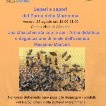 Evento Centro Visite: una chiacchierata con le api