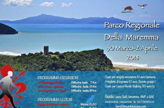 Parco della Maremma: the next Nordic Walking events