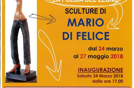 """""""La Poesia del Legno"""": inauguration of Mario Di Felice's exhibition at the Maremma Park"""