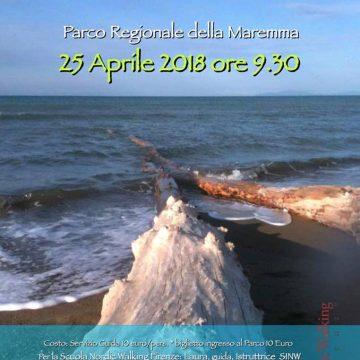 25 aprile: Nordic Walking al Parco della Maremma
