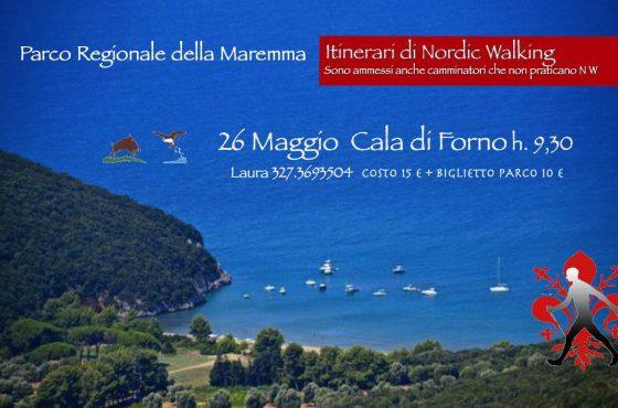 May 26: Nordic Walking in Cala di Forno
