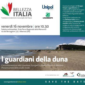 Save the date: 16 novembre iniziativa a conclusione del progetto I Guardiani della Duna