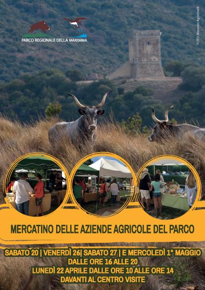 Torna il Mercatino delle Aziende Agricole del Parco