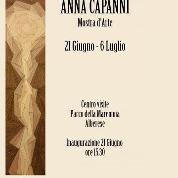 """Anna Capanni espone al Parco della Maremma """"Riflessi"""""""