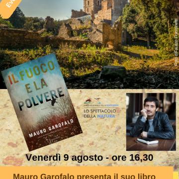 """""""Il Fuoco e la Polvere"""" a San Rabano con l'autore"""