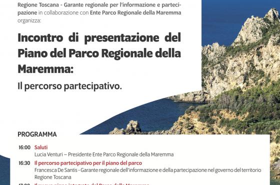 Incontro di presentazione del Piano del Parco Regionale della Maremma