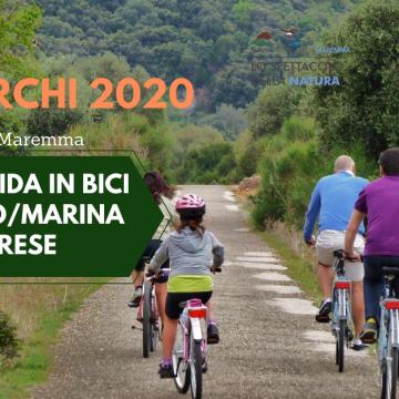 Festa dei Parchi: Gita con guida in bici a Collelungo/Marina di Alberese 24 maggio