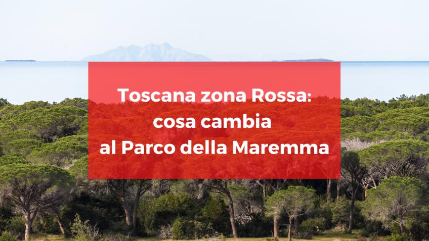 Da domenica 15 novembre Toscana zona rossa: cosa si può fare e cosa no