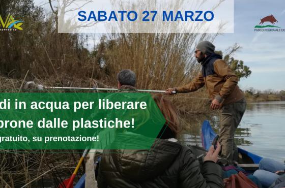 EVENTO ANNULLATO – Il 27 marzo scendi in acqua per liberare l'Ombrone dalle plastiche!