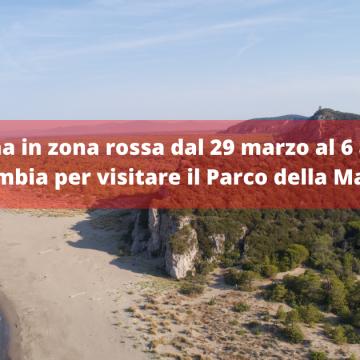 Dal 29 marzo al 6 aprile Toscana in zona Rossa: cosa cambia nella fruizione del Parco della Maremma