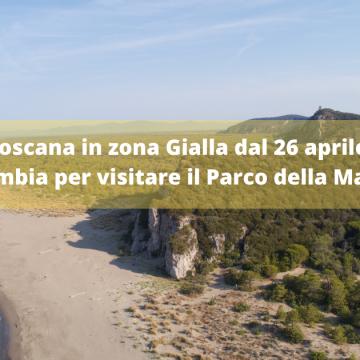 Toscana in zona Gialla dal 26 aprile: cosa cambia per visitare il Parco della Maremma